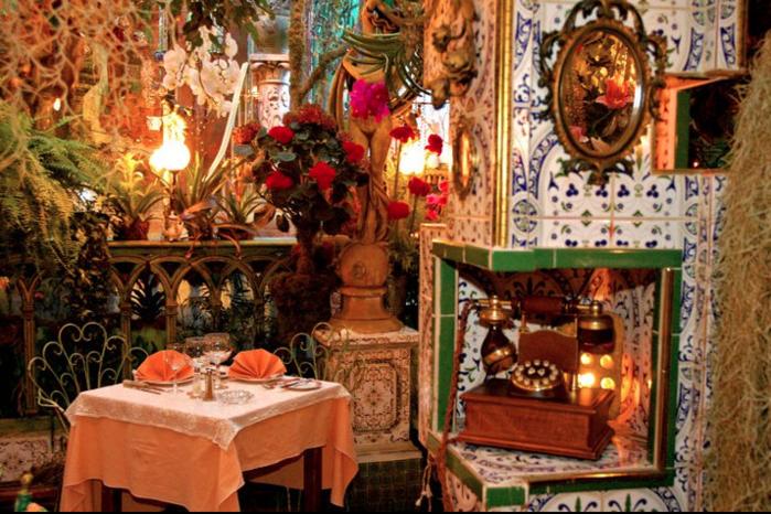 красивый ресторан Mas Provencal 6 (700x466, 703Kb)