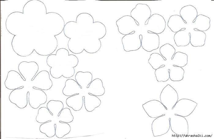 Трафареты цветов стен своими руками
