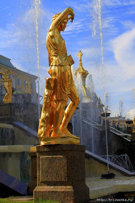 Наша гордость! Великолепный Петергоф и фонтаны Петродворца!