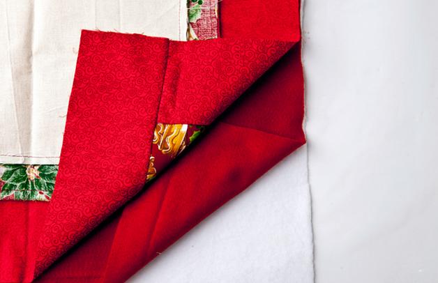 Calendario Adviento textiles.  Modelo del muñeco de nieve (3) (628x406, 492KB)
