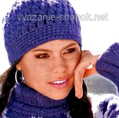 Вязание шапок на узелке: