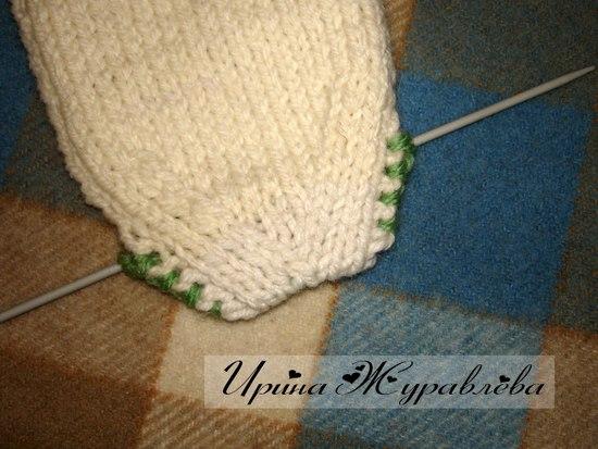 Вязание спицами носки мастер класс видео