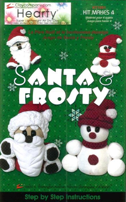 Santa & Frosty (438x700, 80Kb)