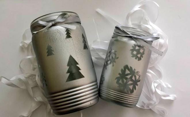 Рождественские подсвечники из баночек (3) (660x406, 82Kb)