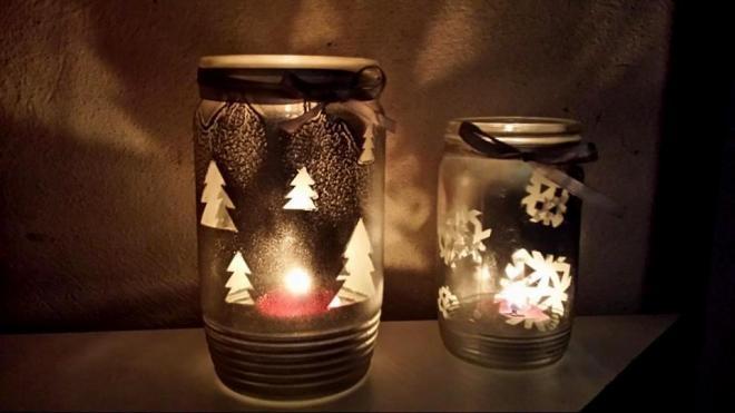 Рождественские подсвечники из баночек (5) (660x371, 94Kb)