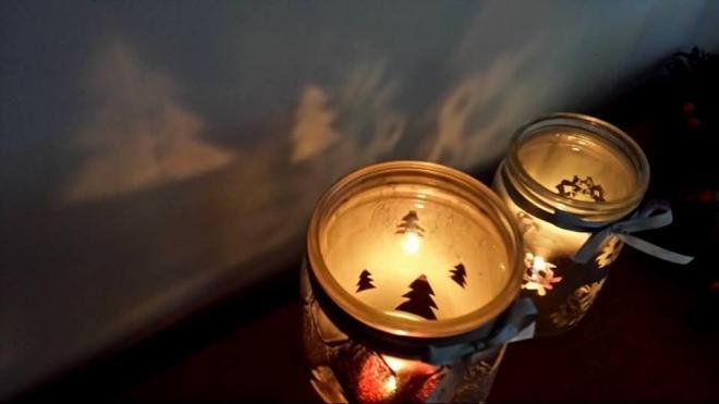 Рождественские подсвечники из баночек (7) (660x371, 73Kb)