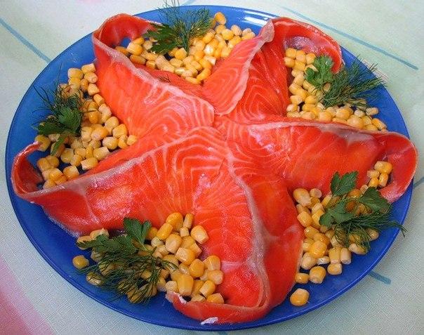 Салаты морская звезда рецепты