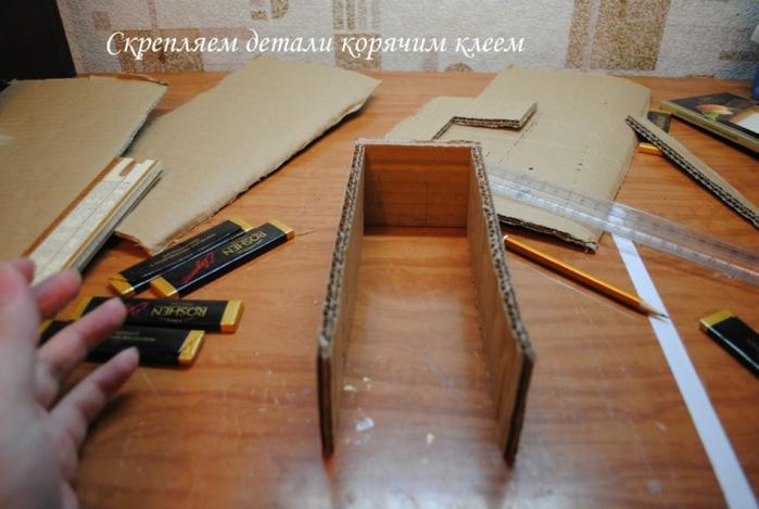 РЕТРО АВТОМОБИЛИ из шоколадных конфет (30) (700x469, 218Kb)