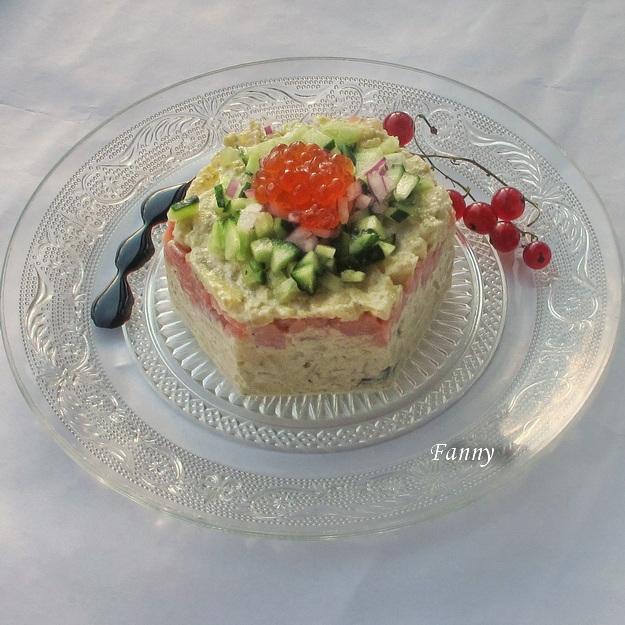 Праздничный порционный салат А-ЛЯ РУС с копченой семгой  (3) (625x625, 276Kb)