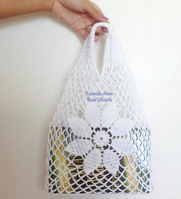 Вязание крючком. Замечательные салфетки и сумочка. Схемы (21) (582x640, 169Kb)