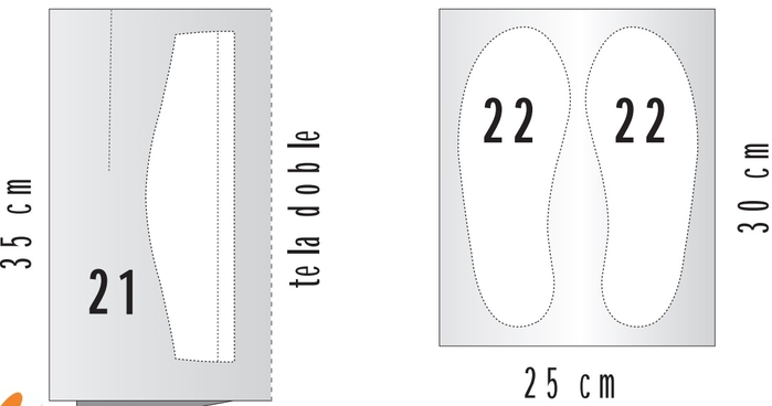 Шьем теплые тапочки. Шаблон и мастер-класс (14) (700x368, 57Kb)