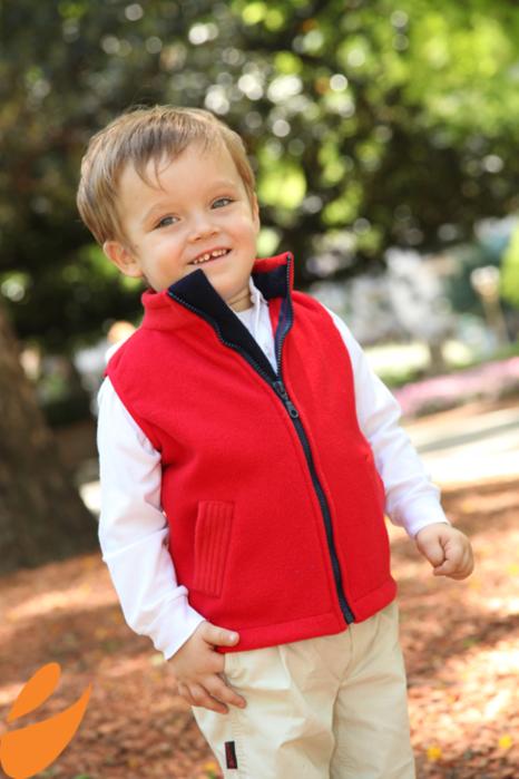 Шьем теплый жилет для мальчика. Выкройка в натуральную величину и мастер-класс (2) (466x700, 492Kb)