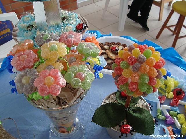 Цветы из мармеладок для конфетных букетов (2) (640x480, 295Kb)