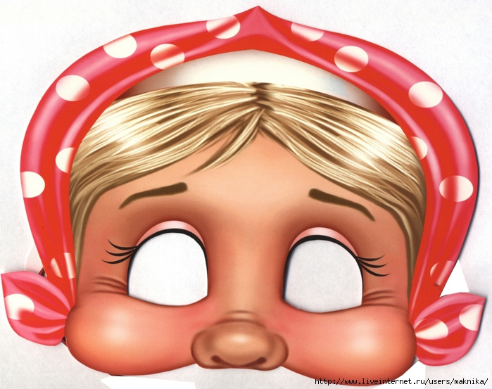 Новогодние маски. Обсуждение на LiveInternet - Российский Сервис Онлайн-Дневников