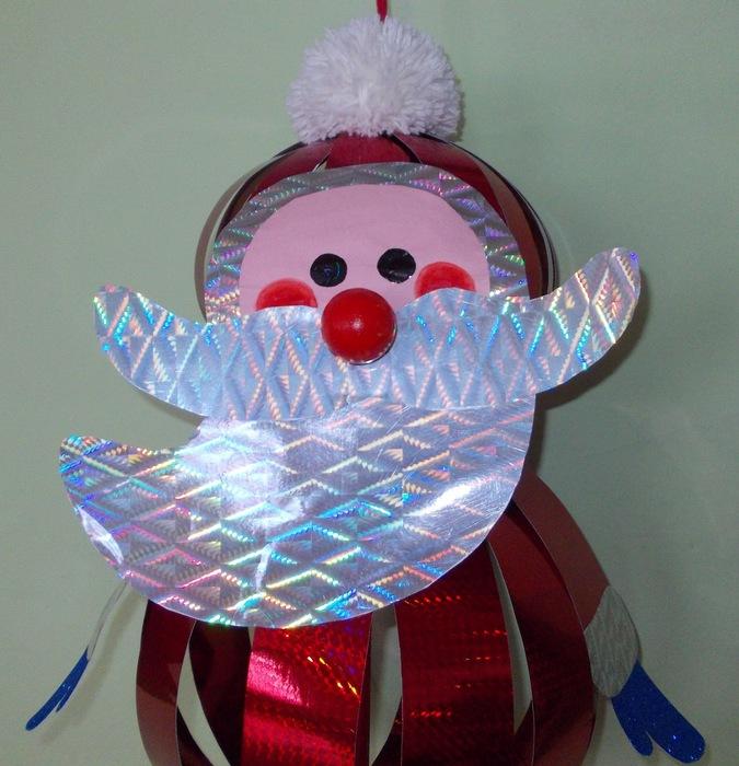 Как сделать новогоднюю игрушку на городскую ёлку своими руками 7