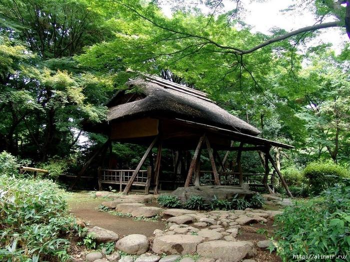 Сад Рикугиэн Rikugien garden (яп. 六義園 Рикугиэн) 16 (700x525, 451Kb)
