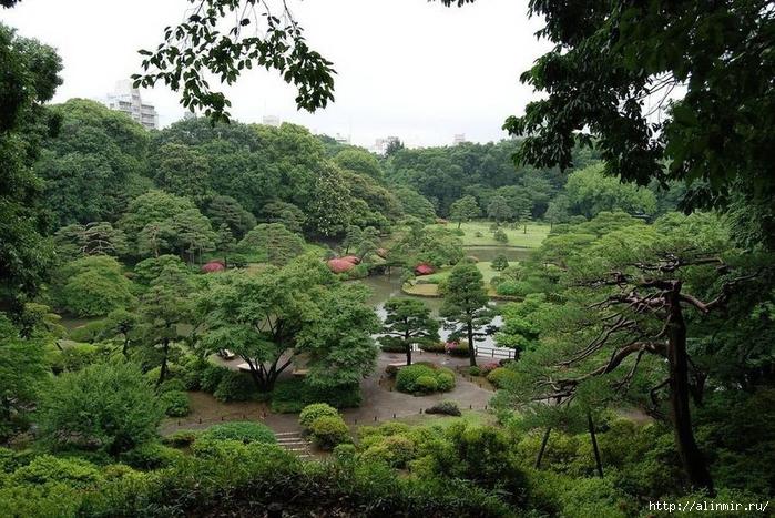Сад Рикугиэн Rikugien garden (яп. 六義園 Рикугиэн) (700x467, 339Kb)