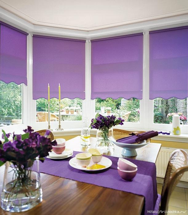 Рулонные шторы или жалюзи