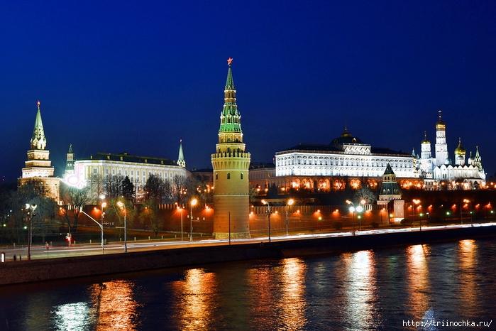 Огни вечерней Москвы!