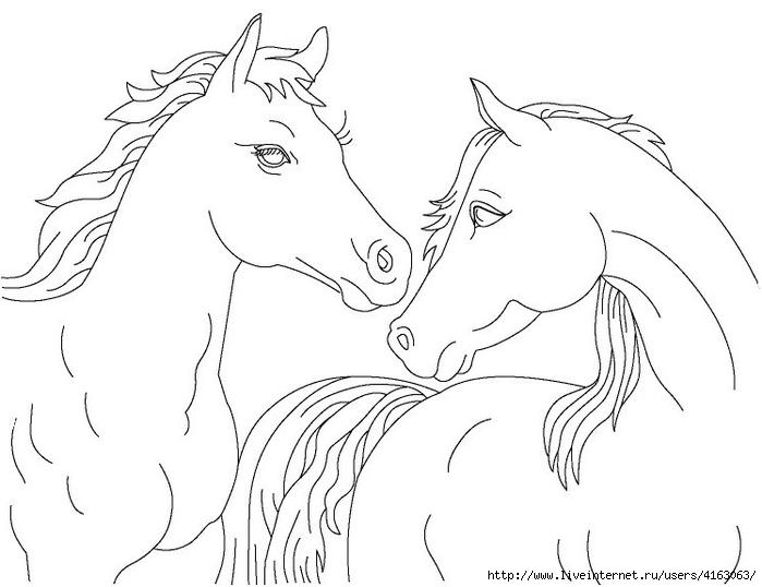horse-trafaret (700x538, 140Kb)