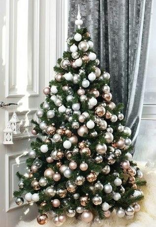 как красиво нарядить елочку, как правильно нарядить елку, что нужно чтог бы нарядить елку Хьюго Пьюго, как нужно наряжать елку, красивые новогодние ёлочки,