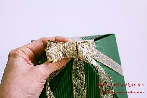 Подарочная упаковка - коробочка пирамида своими руками (5) (500x332, 109Kb)