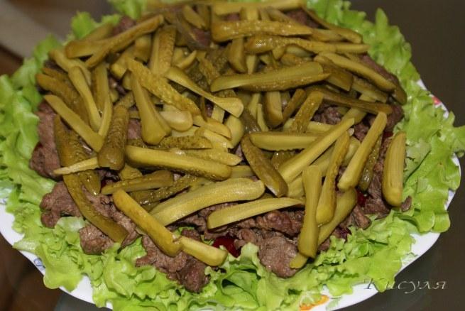 Сочный пряный салат с говядиной и грибами (7) (655x438, 180Kb)