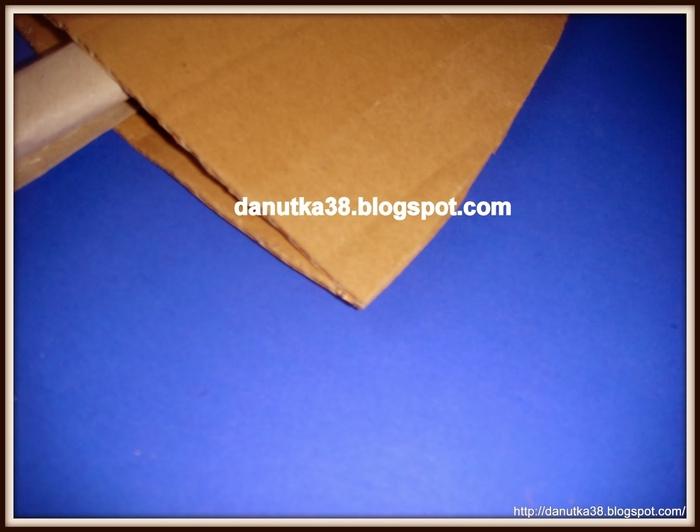 Елочка из картона и гофрированной бумаги. Мастер-класс (4) (700x532, 158Kb)
