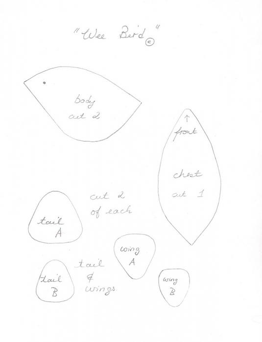 птичка из фетра (4) (535x699, 120Kb)