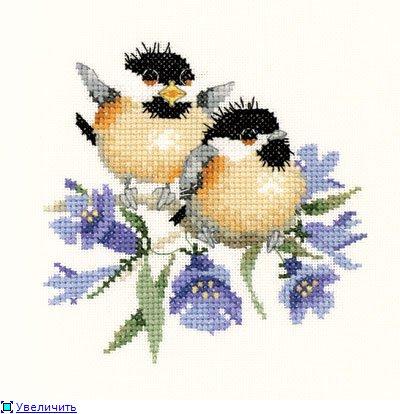 Птенцы и колокольчики/Bluebell