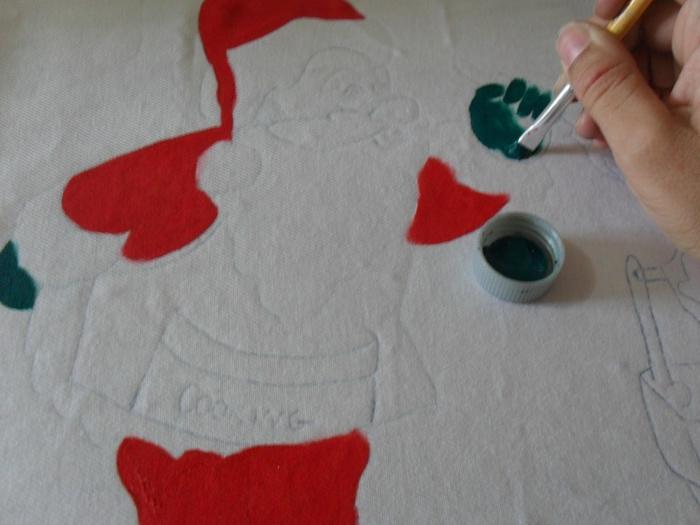 Рождественская роспись по ткани. Санта Клаус, снеговики (26) (700x525, 222Kb)