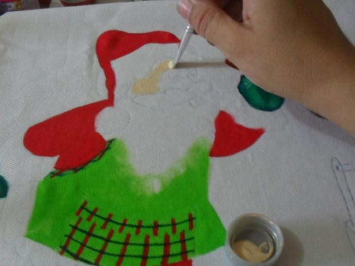 Рождественская роспись по ткани. Санта Клаус, снеговики (30) (700x525, 211Kb)