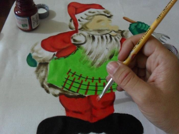 Рождественская роспись по ткани. Санта Клаус, снеговики (35) (700x525, 224Kb)
