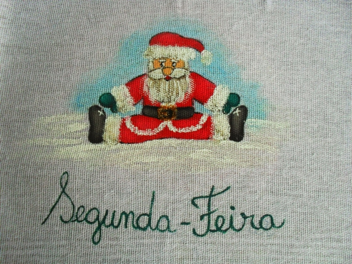 Рождественская роспись по ткани. Санта Клаус, снеговики (59) (700x525, 358Kb)