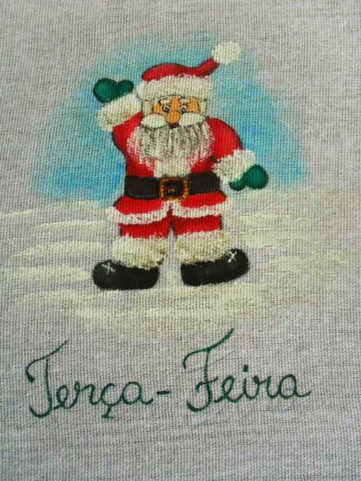 Рождественская роспись по ткани. Санта Клаус, снеговики (60) (525x700, 363Kb)