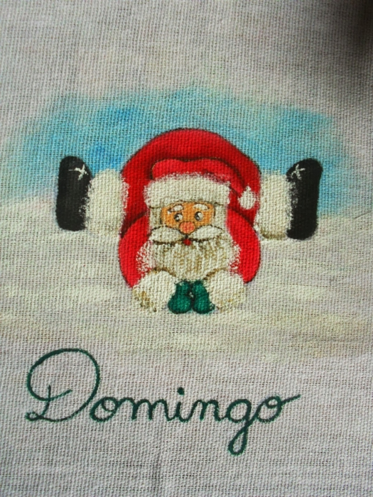 Рождественская роспись по ткани. Санта Клаус, снеговики (65) (525x700, 349Kb)