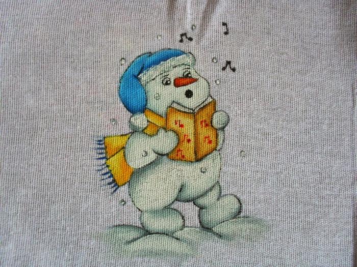 Рождественская роспись по ткани. Санта Клаус, снеговики (79) (700x525, 369Kb)