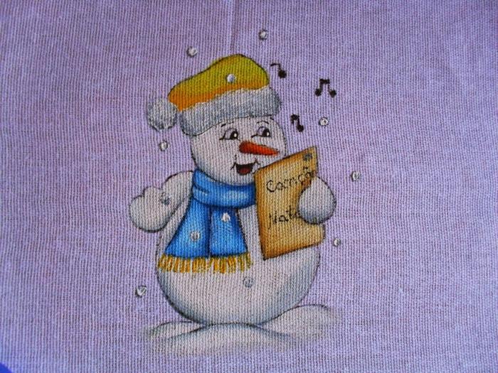 Рождественская роспись по ткани. Санта Клаус, снеговики (80) (700x525, 368Kb)