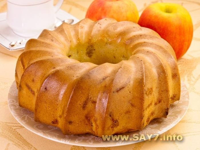Яблочная шарлотка (700x525, 258Kb)