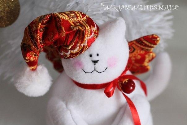 Новогодний котик своими руками