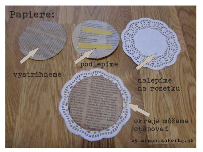 Винтажная гирлянда из бумажных ажурных салфеток и марли (1) (660x496, 144Kb)