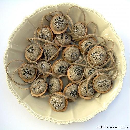 грецкие орехи для упаковки новогодних подарков (2) (507x508, 195Kb)
