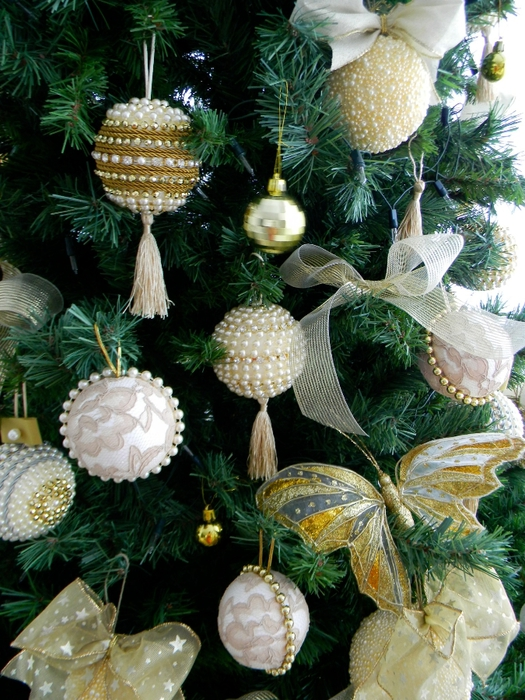 bolas de Navidad preciosos y abeto de perlas y cuentas (30) (525x700, 349Kb)