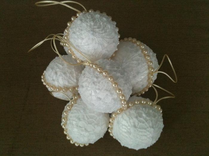 las bolas de Navidad y preciosos árboles de Navidad con perlas y cuentas (39) (700x525, 244Kb)