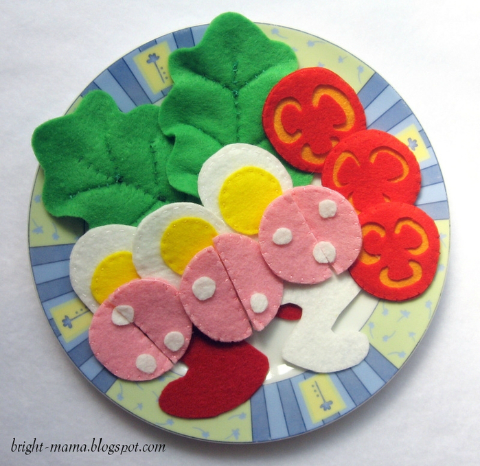 felt pizza (13) � ���� (700x679, 518Kb)