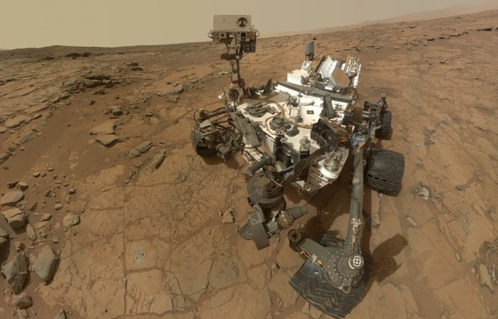 Марсоход 'Кьюриосити' Curiosity