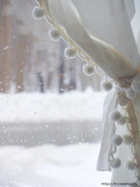 За окном снег, идет зима!