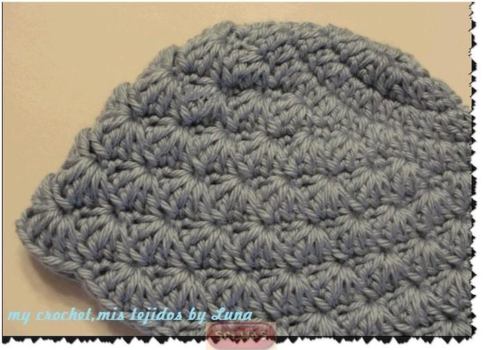 вязания шапочки крючком