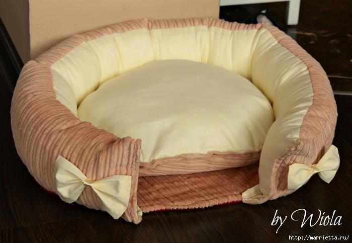 Как сшить кроватку для кошки. Мастер-класс (9) (700x483, 210Kb)