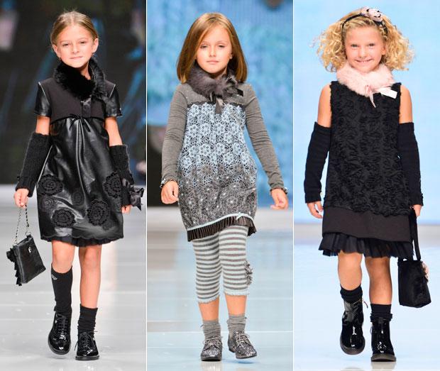 Детишки тоже умеют модничать.